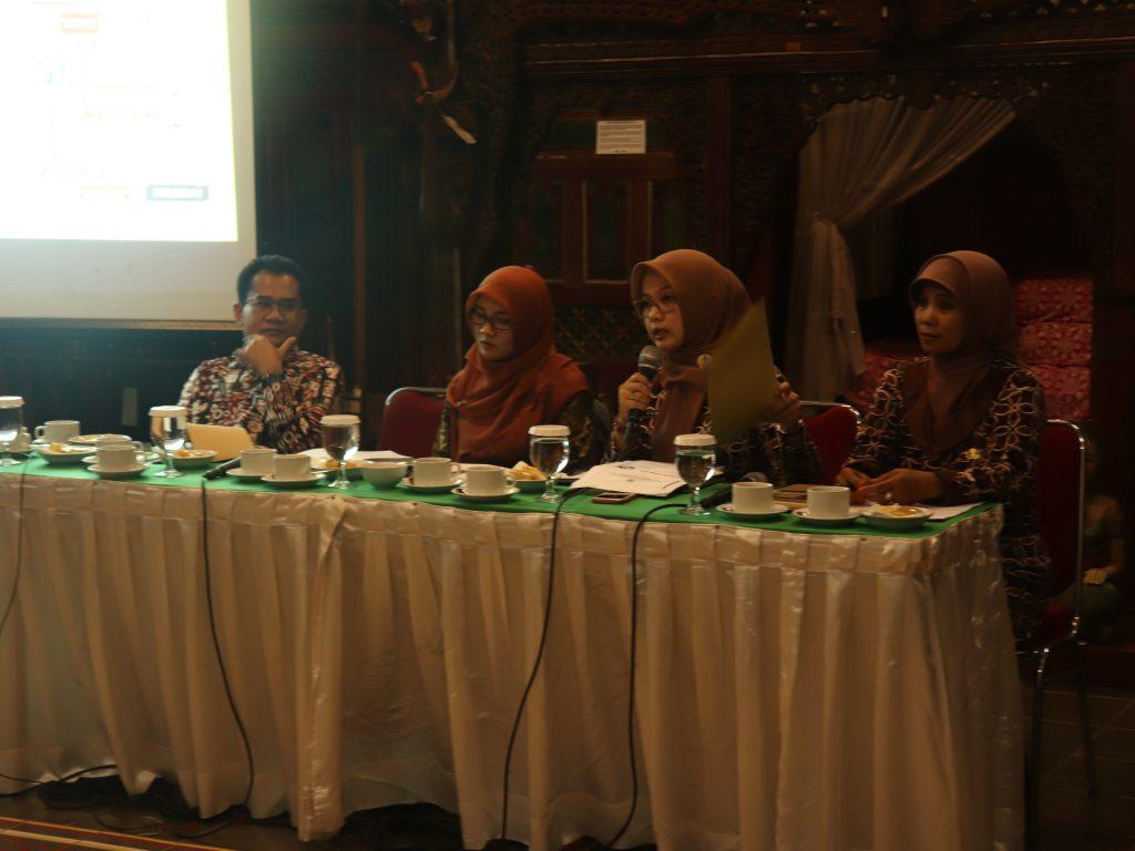 Sambutan Kepala Bidang Pengembangan Sumber Daya Komunikasi dan Informatika Dinas Kominfo Kabupaten Bantul, Sri Mulyani, SSTP, M.Eng (14/11)